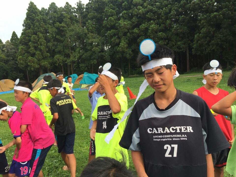 8/8(月)U14英語×ダンス×サッカーキャンプ合宿