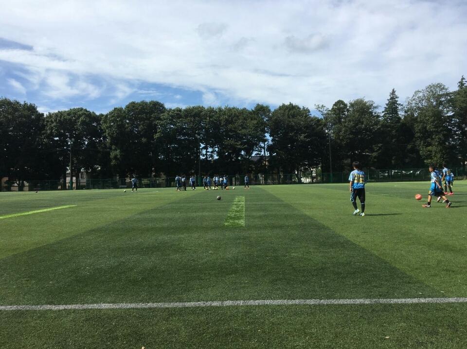 8/21(日)U14トレーニングマッチ