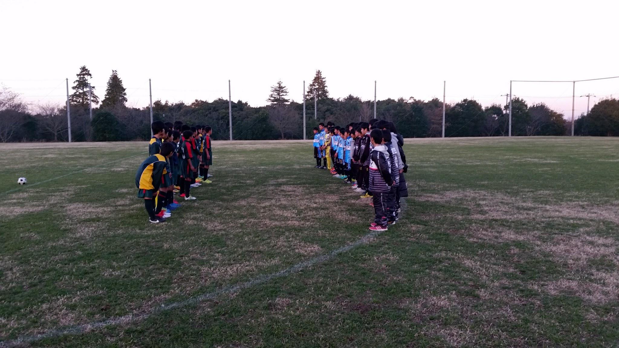 12/25(日)U13トレーニングマッチ