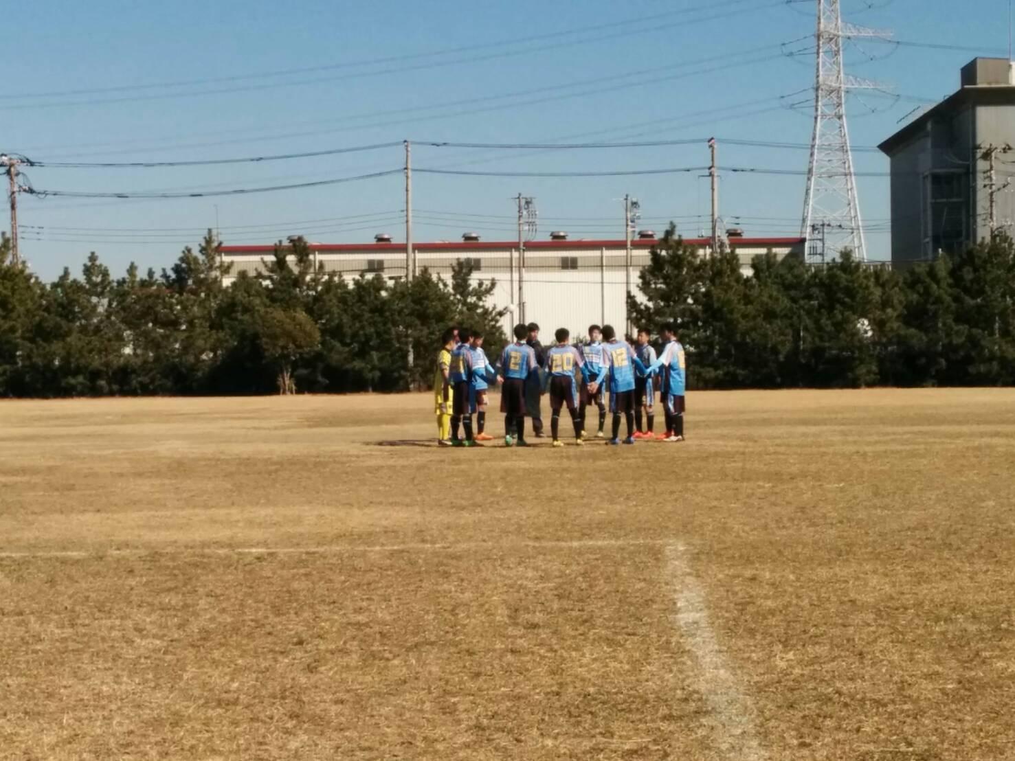 2/4(土)U15トレーニングマッチ