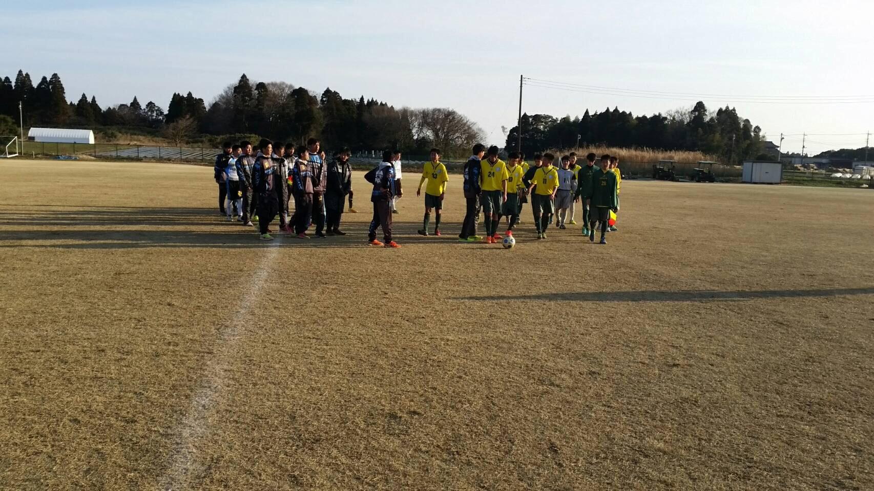 3/12(日)U15,14トレーニングマッチ