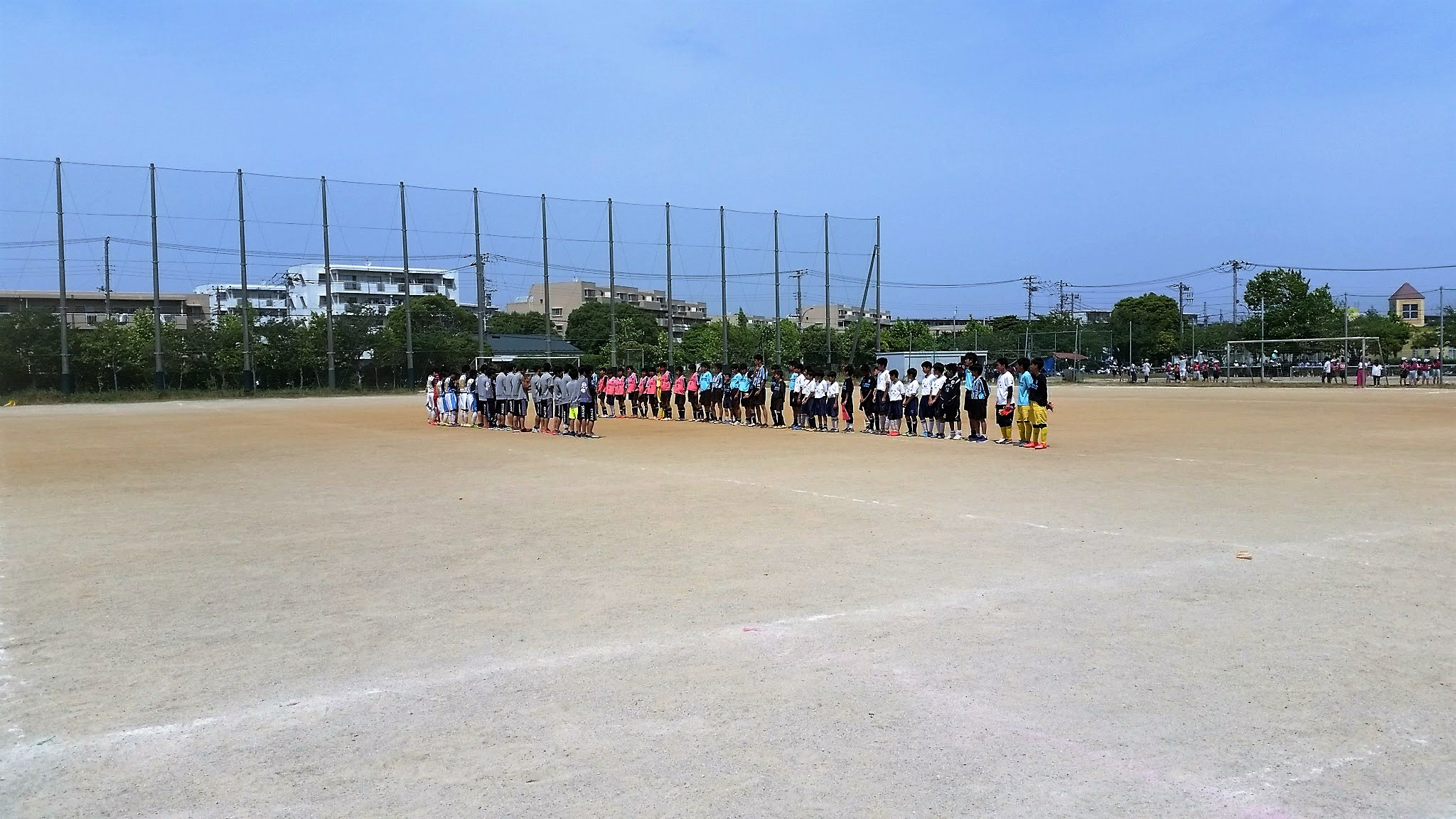 6/10(土)U15トレーニングマッチ