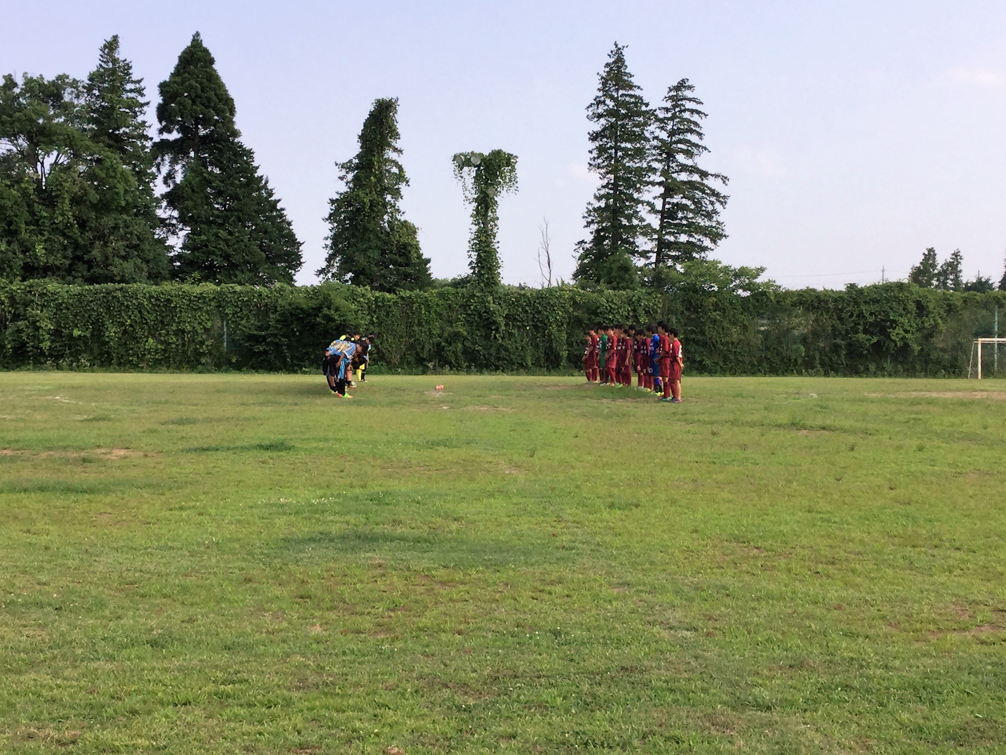 7/9(日)U15トレーニングマッチ
