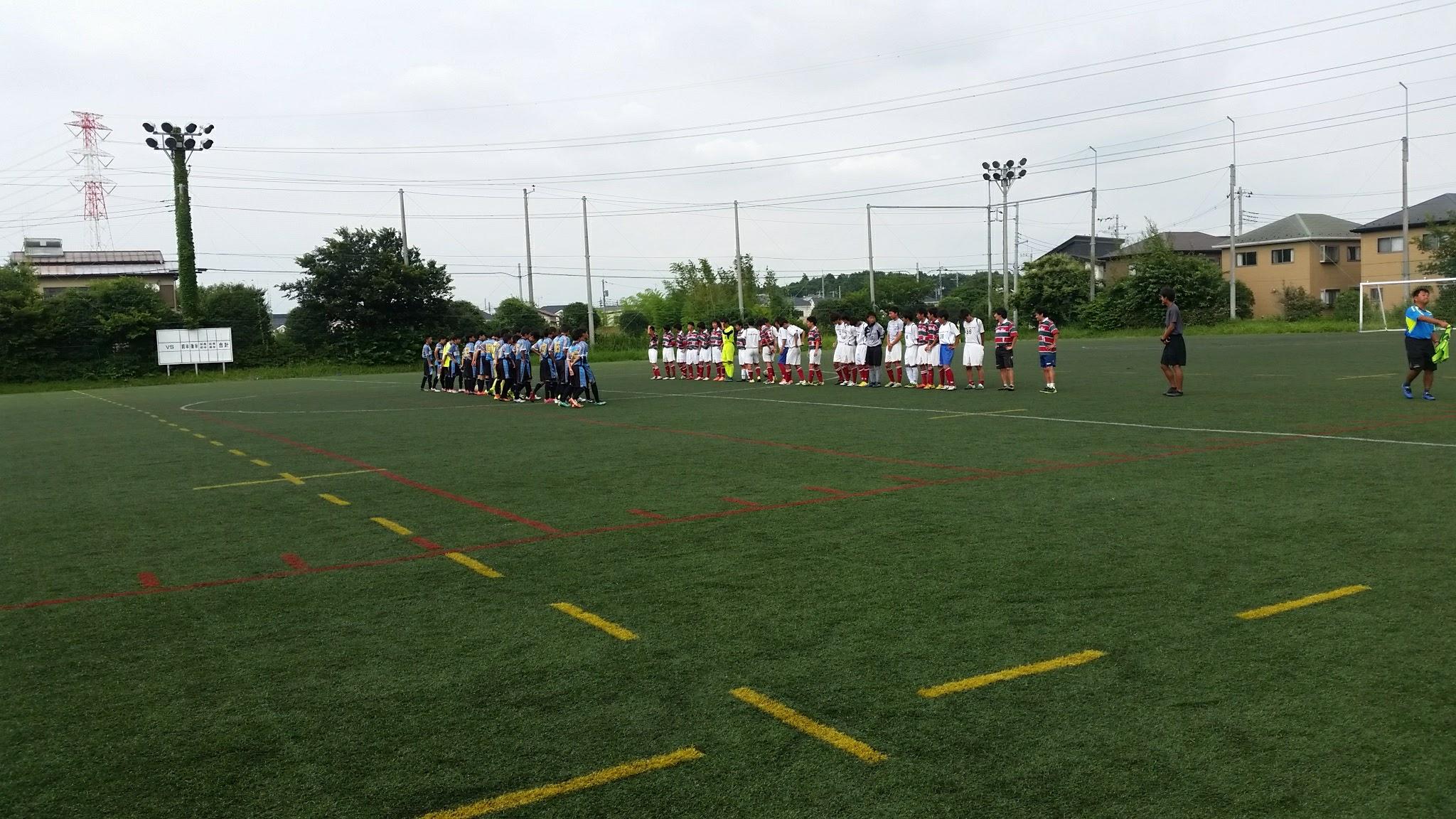 8/1(火)U15トレーニングマッチ