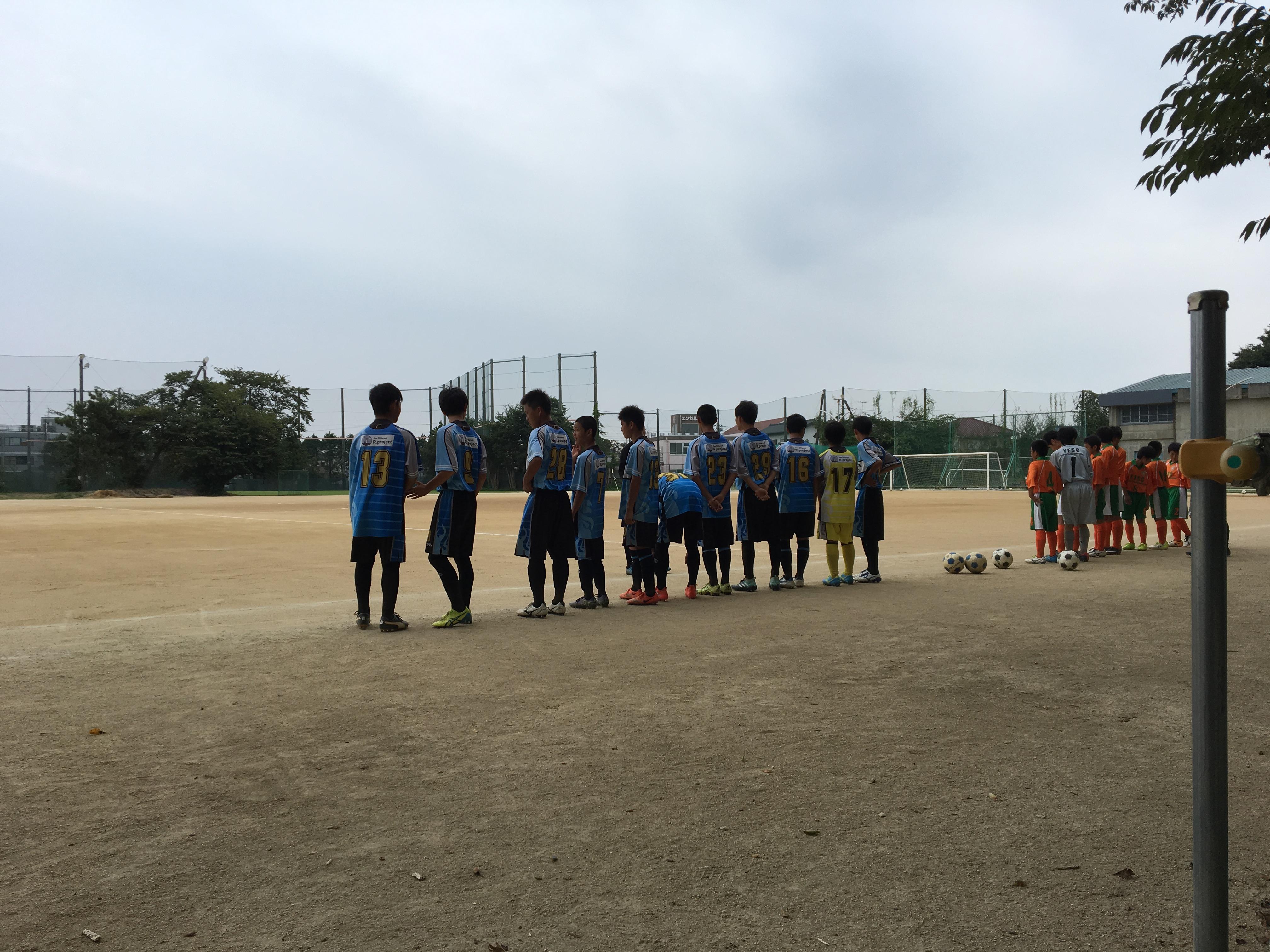 8/26  クラブU14下位リーグ  グループG