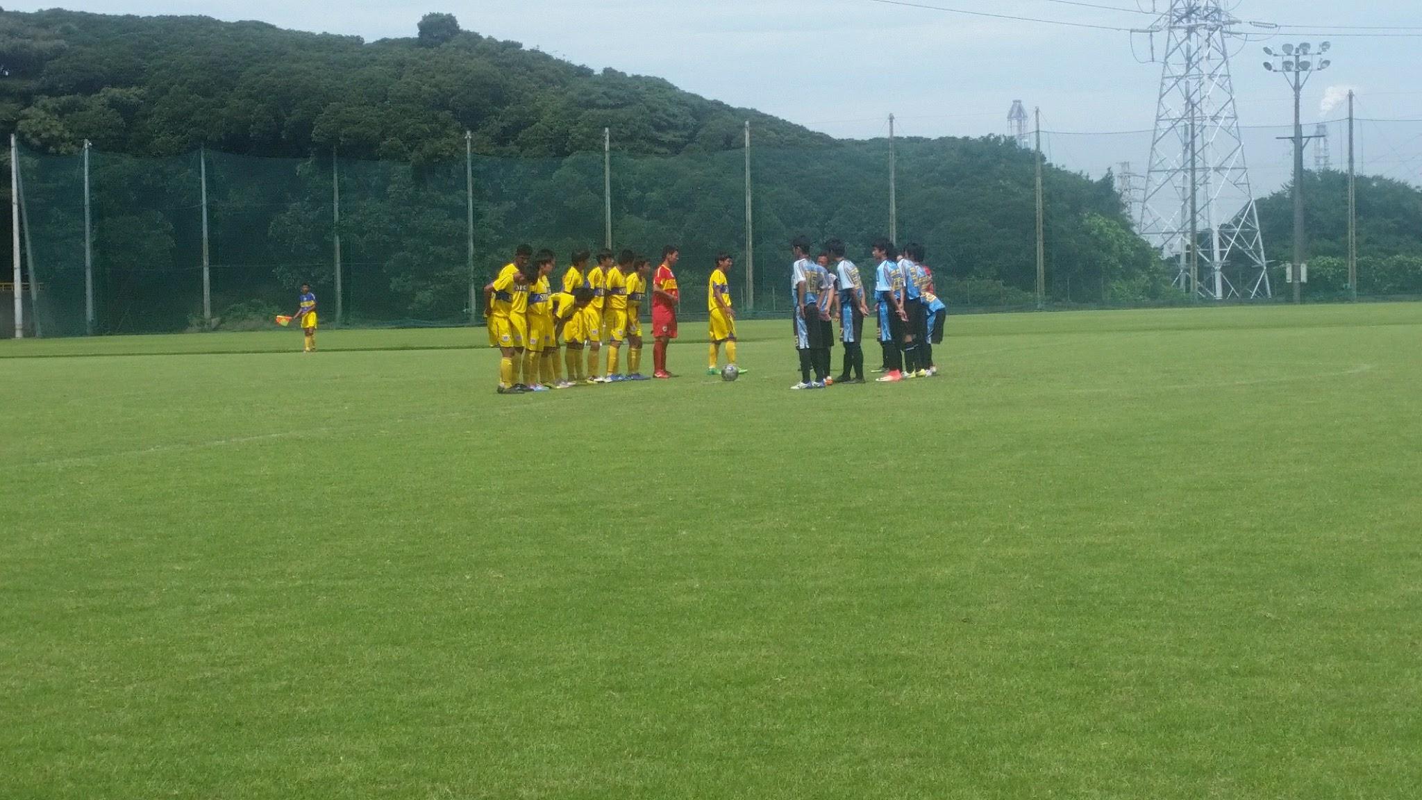 8/25(金)U15トレーニングマッチ
