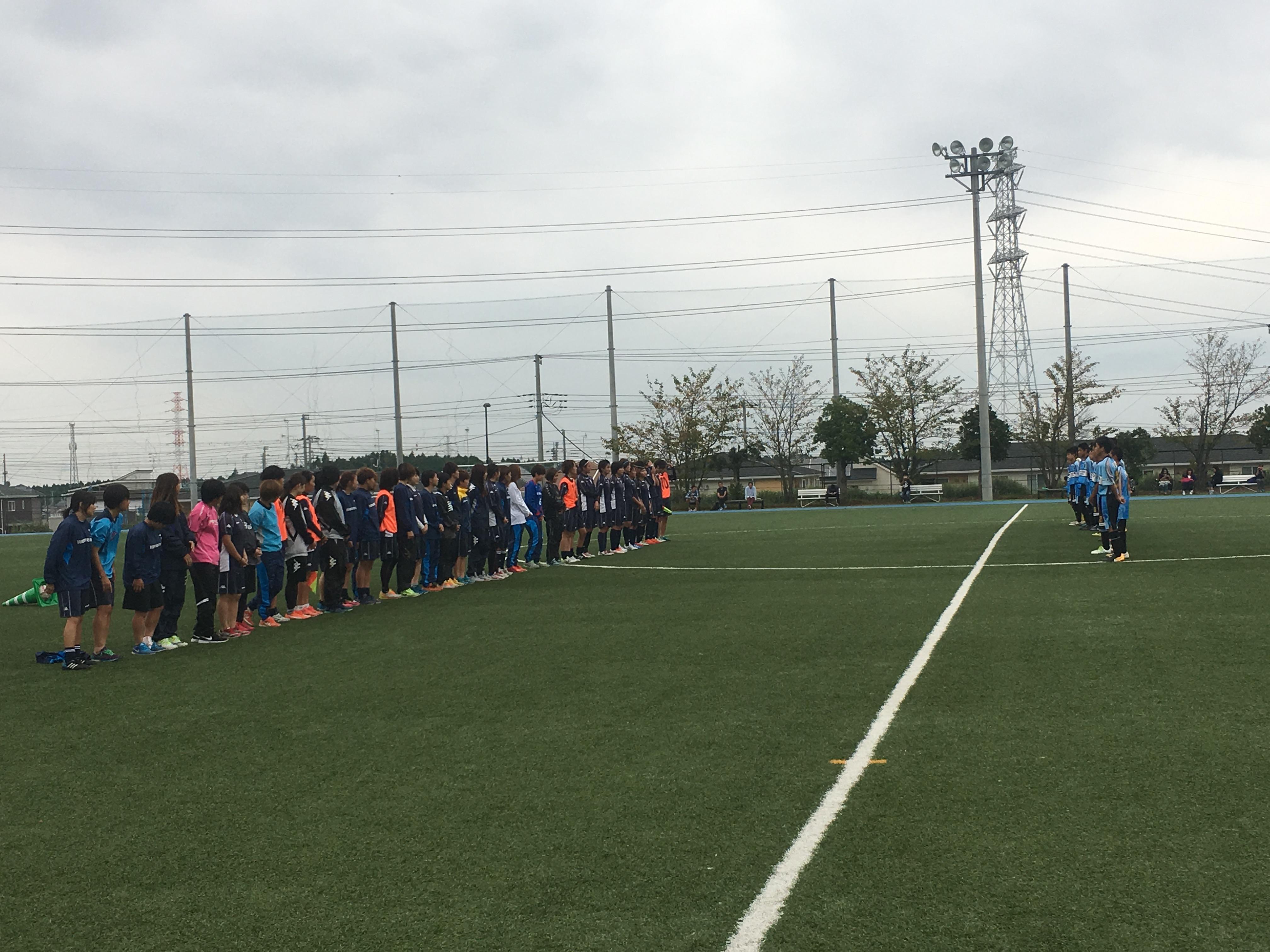 9月24日(日) U-13 トレーニングマッチ