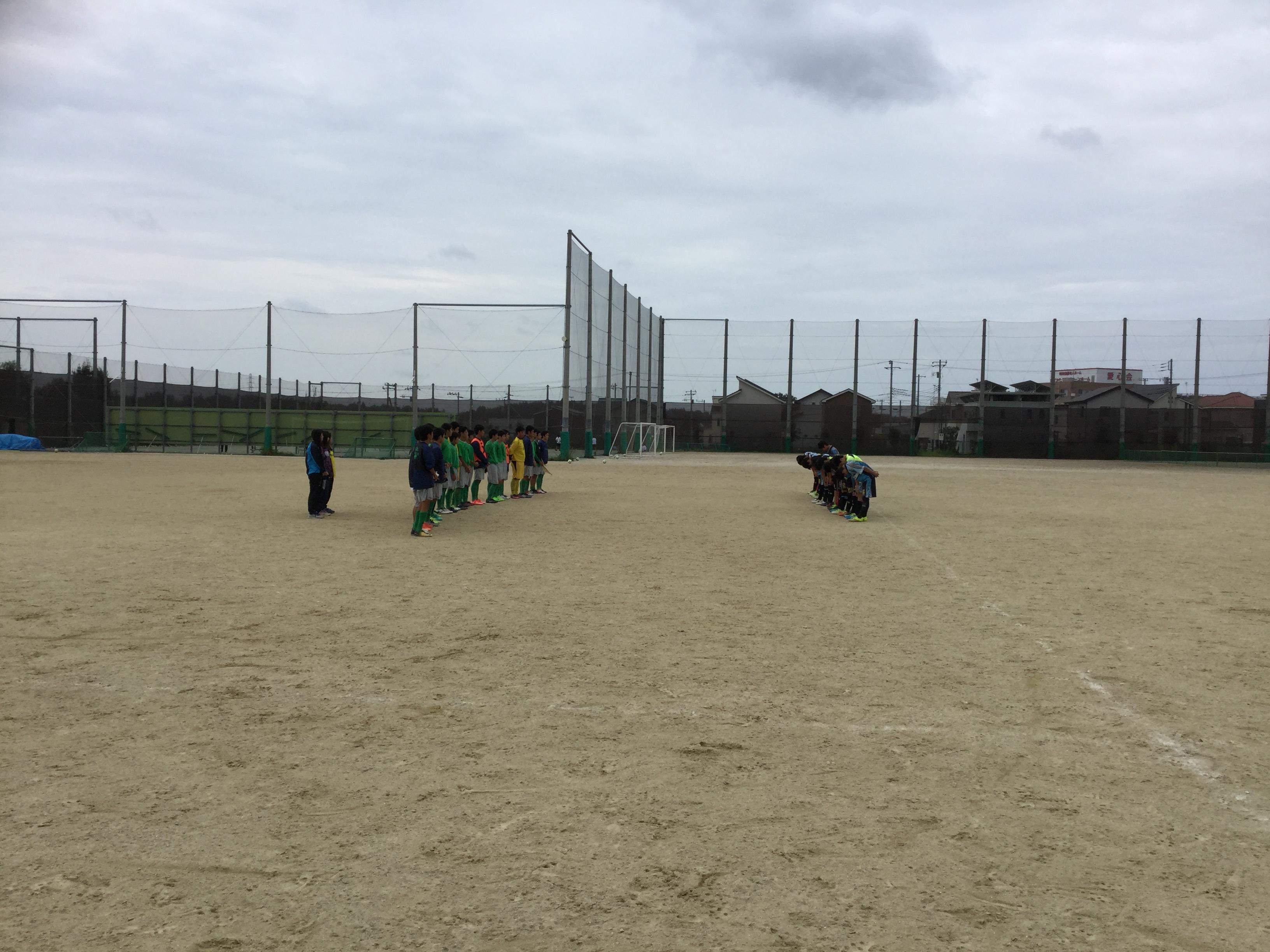 9/16(土)U15トレーニングマッチ
