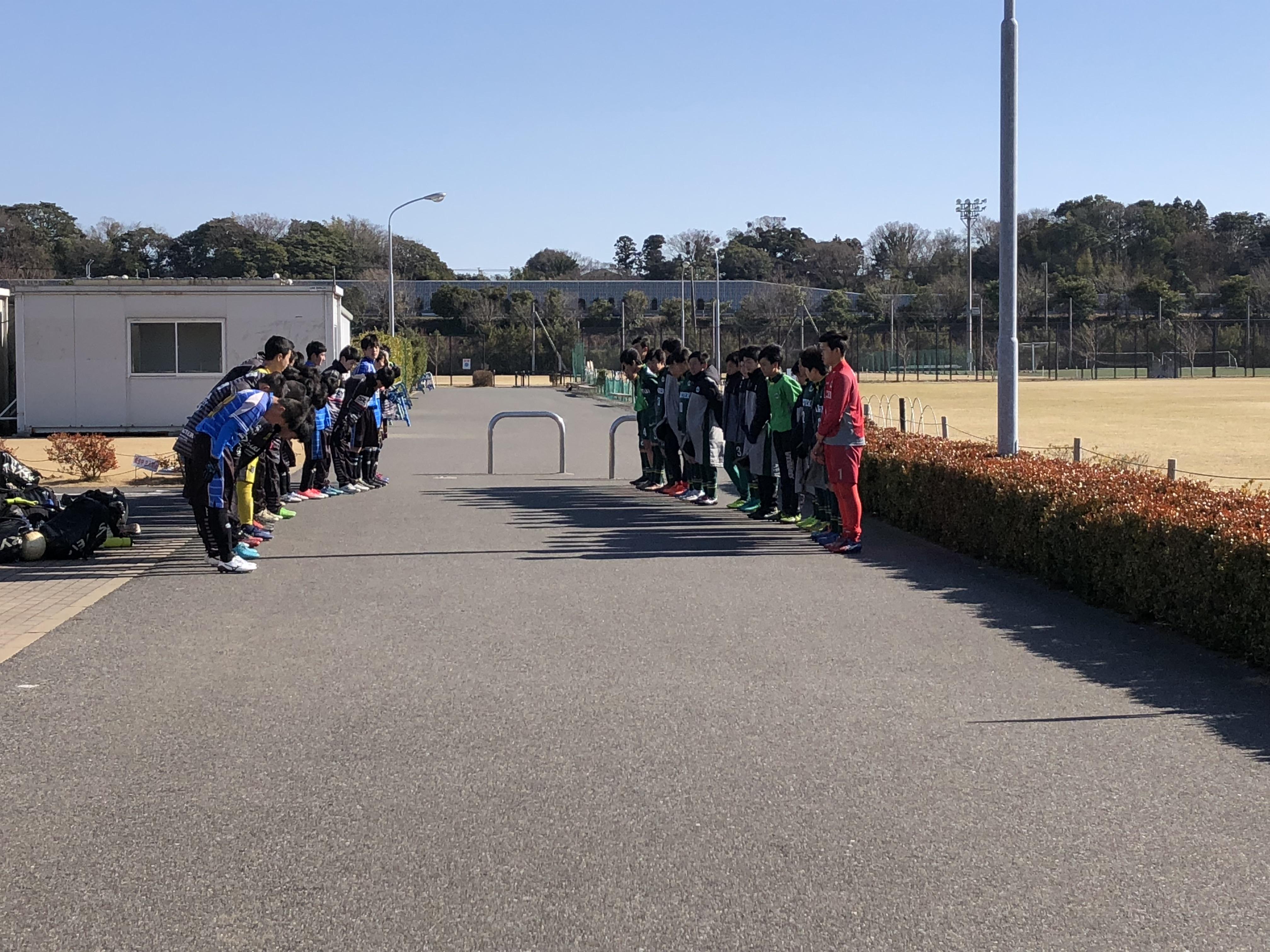 1/27(土)U14トレーニングマッチ