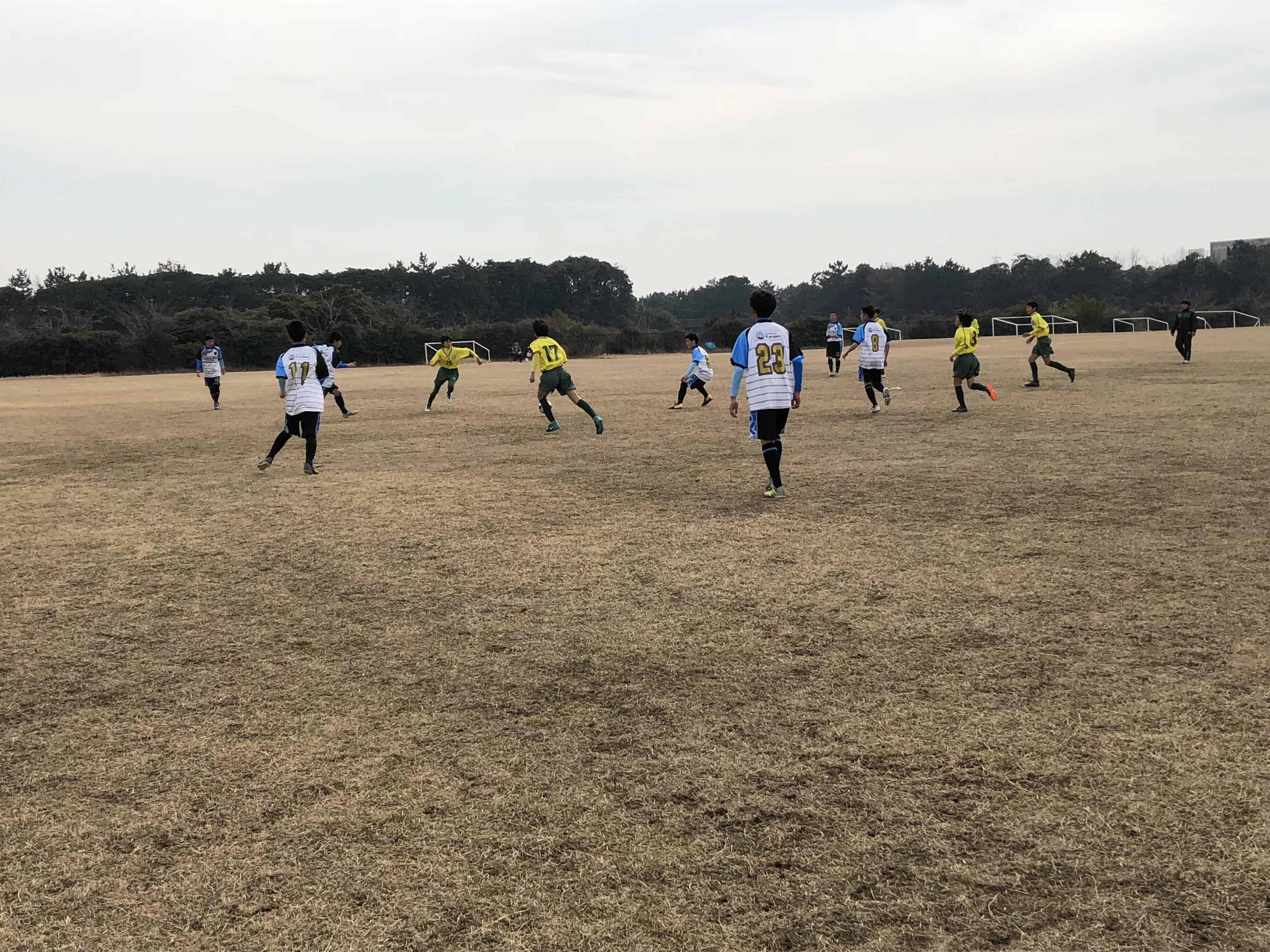 2/10(日)U14新富交流戦