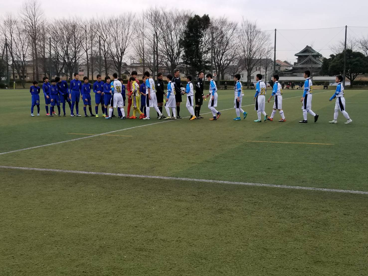2/3(土)U13選手権県大会2回戦&2/4(土)大網サッカーフェスティバル