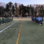 3/24(日)U15トレーニングマッチ